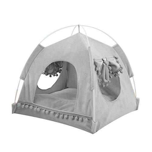N/A. Tienda de campaña plegable para gatos y perros, portátil, transpirable, para cachorros, cachorros, caseta