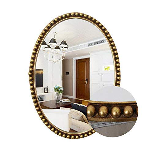 YBGW Wandspiegel Deko Rund Wand-Bad Wand-Wc Wc-Kosmetikspiegel Wc-Toilette Dekorativer Schminkspiegel Wandspiegel Badspiegel