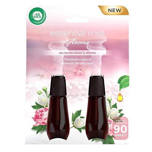 Air Wick Essential Mist Aroma Balancing Peony & Jasmine 2 x 20ml