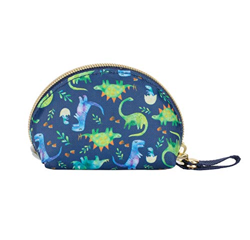 Itzy Ritzy Everything Storage Pouch; Comfortably Holds 2 Pacifiers; Snap Handle Attaches to Diaper Bag, Stroller or Purse; Pouch Can Also Hold Earbuds, Chargers, Change or Disposable Bags; Dinosaur