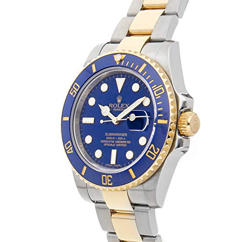 Rolex Submariner Two Tone Blue Review