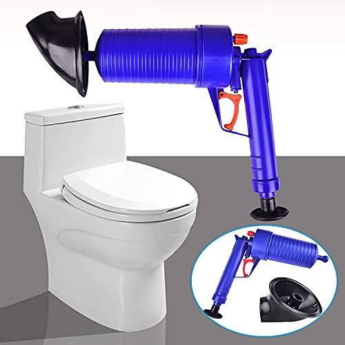 amzaon Inodoro émbolo de higiénico sumidero de fregón de Aire Drenaje de Aire Borrador Blaster Manual Bomba Limpiador Tubo Alta presión para baño Inodoro Fregadero Piso de Drenaje Cocina tapada