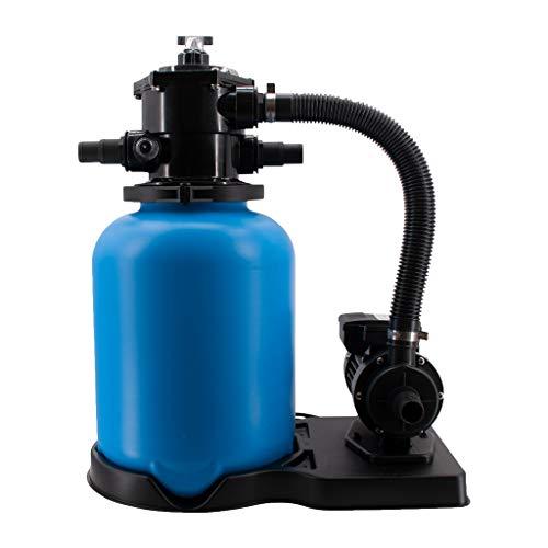 well2wellness Pool Sandfilteranlage Poolfilter ECO Basic Ø300mm inkl. Filterpumpe SPS 25