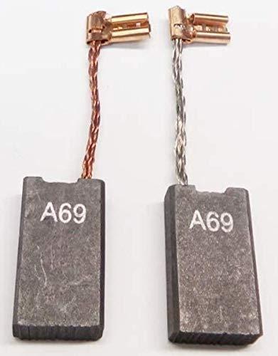 Kohlebürsten Motorkohlen Kohle Kompatibel/Ersatz für Bosch GBH 5 DCE, GBH 5/40 DCE, 38, GSH 5 CE, Würth BMH 40-SE, Würth BMH 40-E, Spit 355, 455