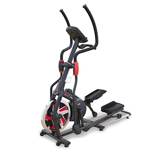 Fitness Reality Bluetooth Smart Technology Elliptical Trainer with Flywheel Turbo Drive(2346), Black