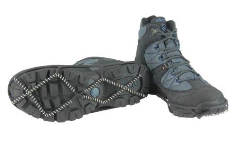 HIGHLANDER Facile Trax Semelles à Crampons Noir Noir Size 3-6/Medium