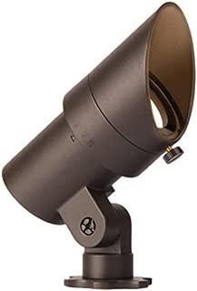 WAC Lighting Landscape 5111-27BBR LED 12V Mini Accent Bronzed Brass Finish, 2700K