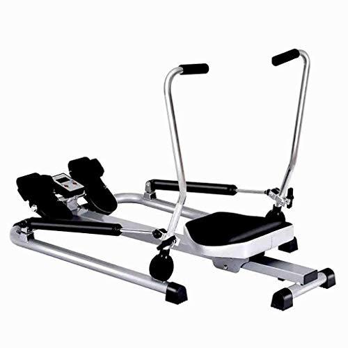 XBSLJ Rudergeräte klappbar Rudergerät Faltbares Rudergerät, Body Fitness Rudergerät mit weichem Sitz, rutschfestem Pedal, Geeignet für Heimfitnessübungen, maximale Belastung 150 kg