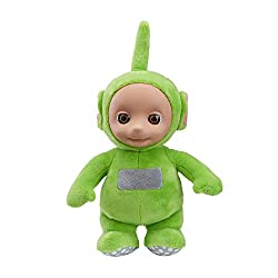 Cute and cuddly talking Dipsy Made from super soft plush with original Teletubbies styling Press Dipsy's tummy to hear him talk With original Teletubbies sound effects All Ages