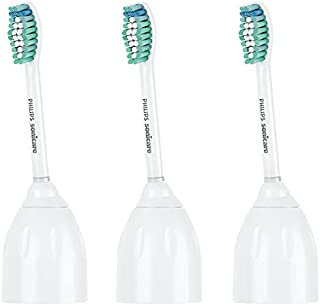 Genuine Philips Sonicare E-Series replacement toothbrush heads, HX7023/30, 3 Count