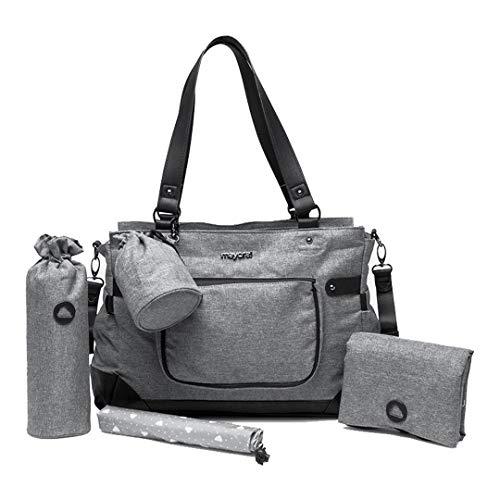 Mayoral – Borsa accessori per bebè/bambini grigio Taglia unica