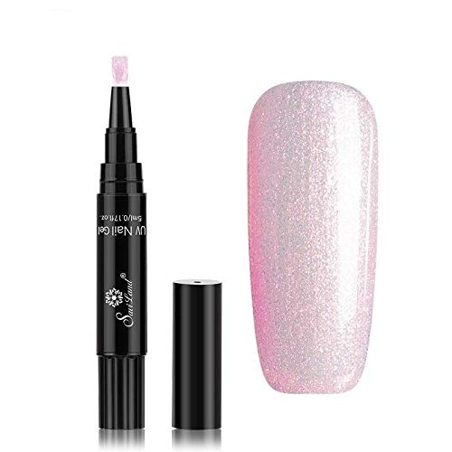 Pamura - LACKY - Nagellack - Stiftform - Nagellackstift - UV Nagellack - Viele Farben (Casual Pink)