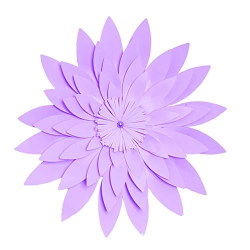 Estrella De Oro La Celebración De La Bandera Círculo Redondo Swallowtail Confeti Mesa Metálicas Telón Fondo Pared Hecho A Mano Doble Material De Purple