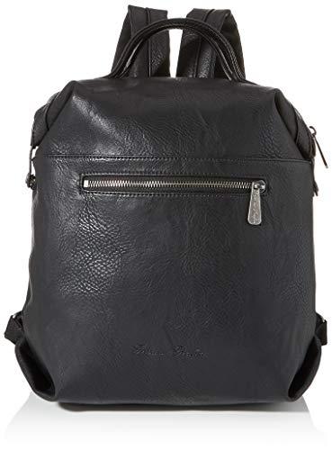 Fritzi aus Preussen Damen Harper Mini Rucksackhandtasche, Schwarz (Black), 11x27x34 cm