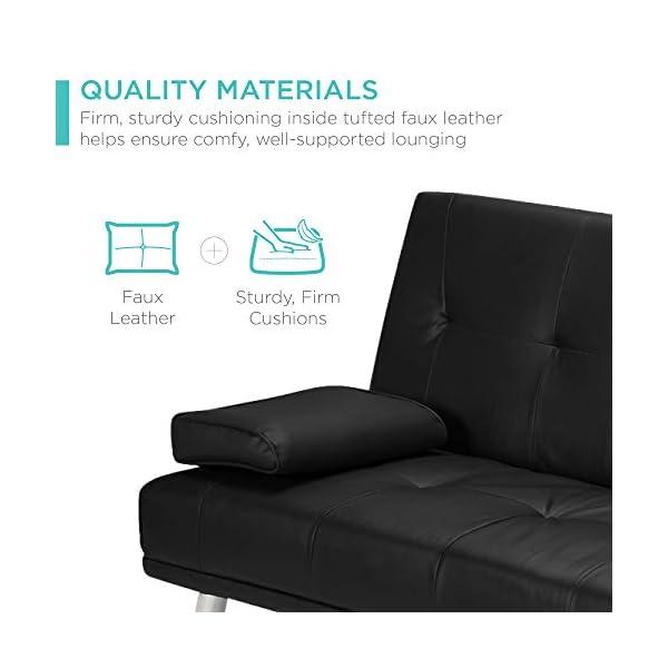Best Choice Products 3-Piece Modular Modern Living Room Sofa 4