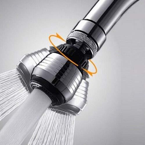 Grifo pulverizador y extensor de grifo, adaptador de grifo y todo el cuerpo de metal para manguera de jardín, ahorro de agua, 60% ABS, espuma de agua, multifunción, para baño, cocina, herramientas y accesorios