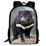 Tasmanian Devil Backpacks Casual Bags Bookbag