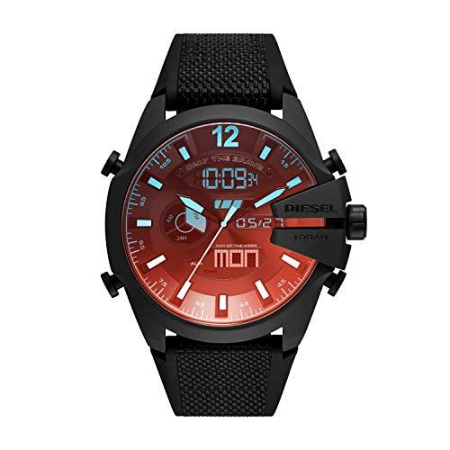 Diesel Reloj Analógico para de los Hombres de Digital con Correa en Nailon DZ4548
