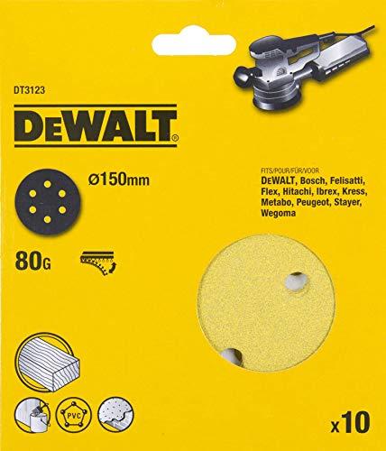 Disco De Lija Perforado 150mm