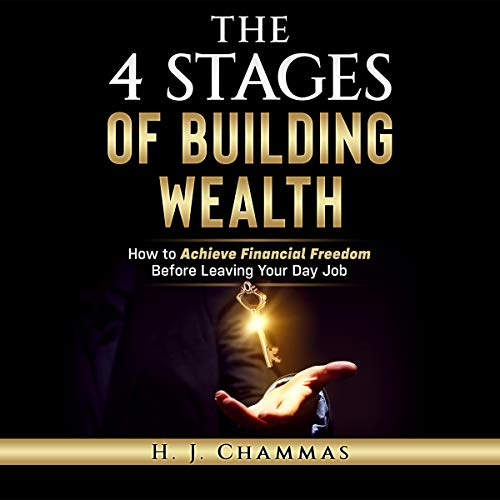 The 4 Stages of Building Wealth audiobook cover art
