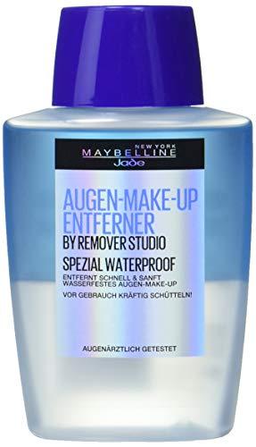 Maybelline New York Augen Make-Up Entferner, Auch für wasserfestes Make Up