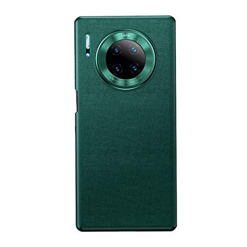 MSPTER Funda para Huawei Mate 30 PRO PU Leather Funda de piel ultra fina antiarañazos Full Body Protectora Backcover para Huawei Mate 30 PRO verde Talla única
