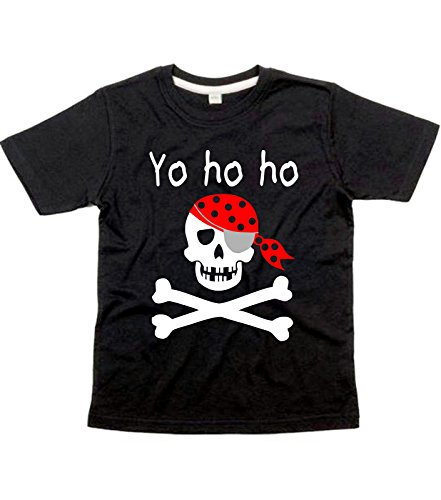 Camiseta infantil de pirata Yo Ho Ho