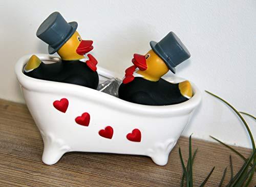 Generisch Geschenk Hochzeit - Badende Enten (Mann & Mann)