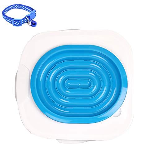 Nareo Cat Toilet Training System Professional Cat Toilet Training Kit Kitty Urinal Seat Toilet Trainer