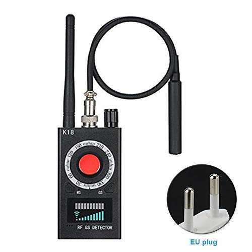 Anti-Spy-Detektor K18 Kamera GSM Audio Bug Finder GPS Signal Linse RF Tracker, K18 GSM Detektor Kamera Finder Audio Full Range Anti-Spy RF Signal Radio Wave, (1 Stück), Wie abgebildet, eu