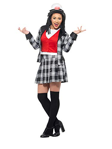 Clueless Dionne Costume Black With Top Skirt Jacket Knee High Socks & Hat