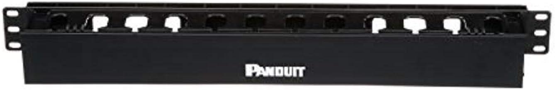 Panduit WMPLFSE Horizontal Cable Manager, Black