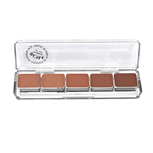 RCMA 5teilige Serie Favoriten Foundation Palette, KT Serie