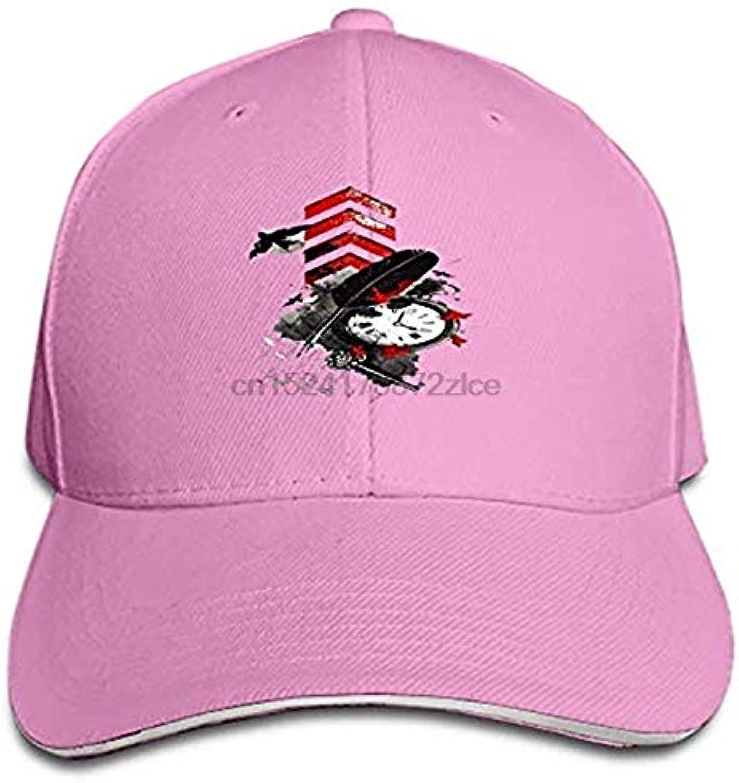 AAMOUISE Baseball Cap Unisex Baseball Cap Grunge Dad Watch Adjustable Hat
