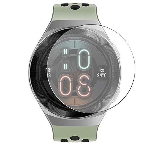 Vaxson 3 Stück 9H Panzerglasfolie, kompatibel mit HUAWEI Watch GT2e 46mm GT 2e Smart watch Smartwatch Panzerglas Schutzfolie Displayschutzfolie Bildschirmschutz Intelligente Uhr Armband Smartwatch