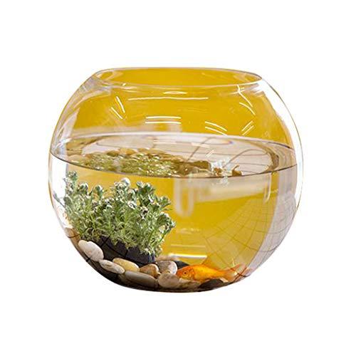 Aquarium hydroponic Floralcraft 30cm vis kom vazen voor bruiloft, decoratie, bloemen hoge kwaliteit hand gemaakt helder glas