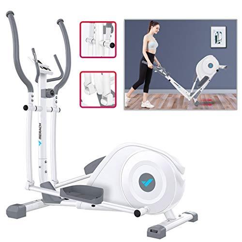 Silent-Stepper - Bicicleta de spinning para interior (control magnético, 8 posiciones, con soporte para iPad (color: blanco, tamaño: 92,2 x 49,5 x 118,8 cm)