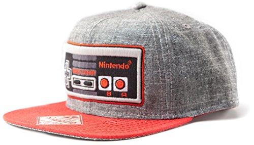 Nintendo - Controller Flat Bill Cap