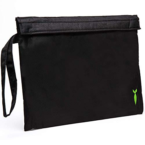 Large Smell Proof Bag 11x9 - Store all your Smelly accessories, Rolling paper, Grinder and Rolling tray DOG TESTED
