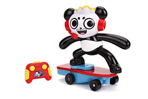 Ryans World 253194001 RC Skateboard Stunt Panda, Mehrfarbig