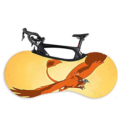 Funda para sujetador para bicicleta, funda para bicicleta de Animal World y bicicleta, tapa antipolvo elástica para cubrir la rueda de montaña, ropa de coche
