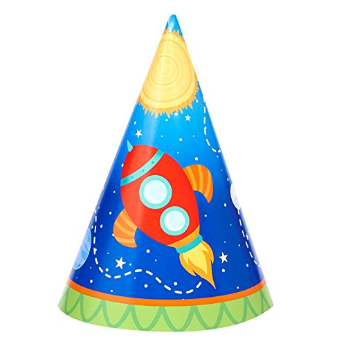 retro space party hat fun gift and party idea