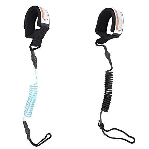 DWIN Cuerda de tracción para tabla de surf, cuerda de tracción de seguridad SUP, cuerda de tobillo para tablas de pie y tablas de surf