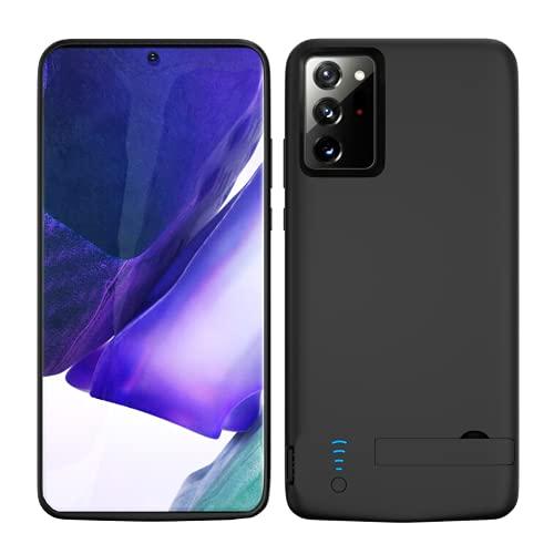Funda Batería para Samsung Note 20 Ultra, 6000mAh Funda Cargador Portatil Carcasa Batería Recargable Batería Externa para Samsung Galaxy Note 20 Ultra 5G [6,9 Pulgadas]