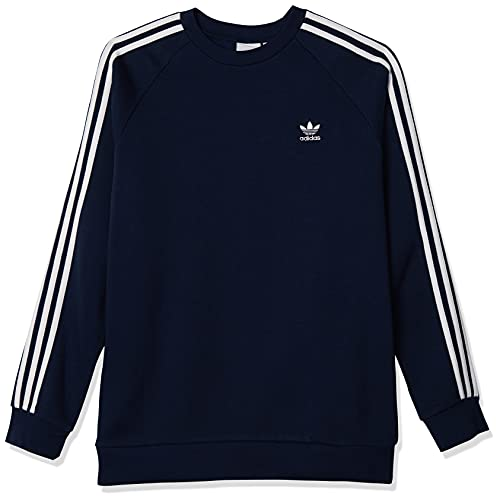 adidas Originals Felpa da Uomo Girocollo 3-Stripes Blu Taglia M cod GH0028