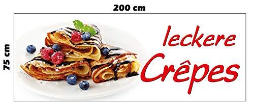Banner Crêpes 200 x 75 cm