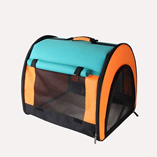 Cat Backpack Oxford Cloth Outdoor Breathable Portable Best for Pet Carrier for Dogs & Cats Travel Bag QYDJD