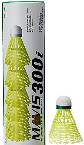 YONEX Mavis 300i Nylon Badminton Shuttlecocks (Green)