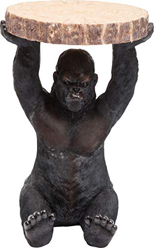 Kare Design bijzettafel Animal Gorilla Groß zwart
