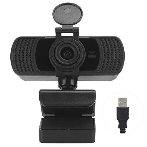 Sxhlseller 2K Cámara Mesa Computadora Cámara Reducción de Ruido Incorporada Micrófono HDMI Autofocus Webcams C6 2K